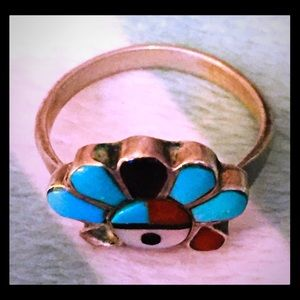 Jewelry - Native American Silver & Turquoise Ring